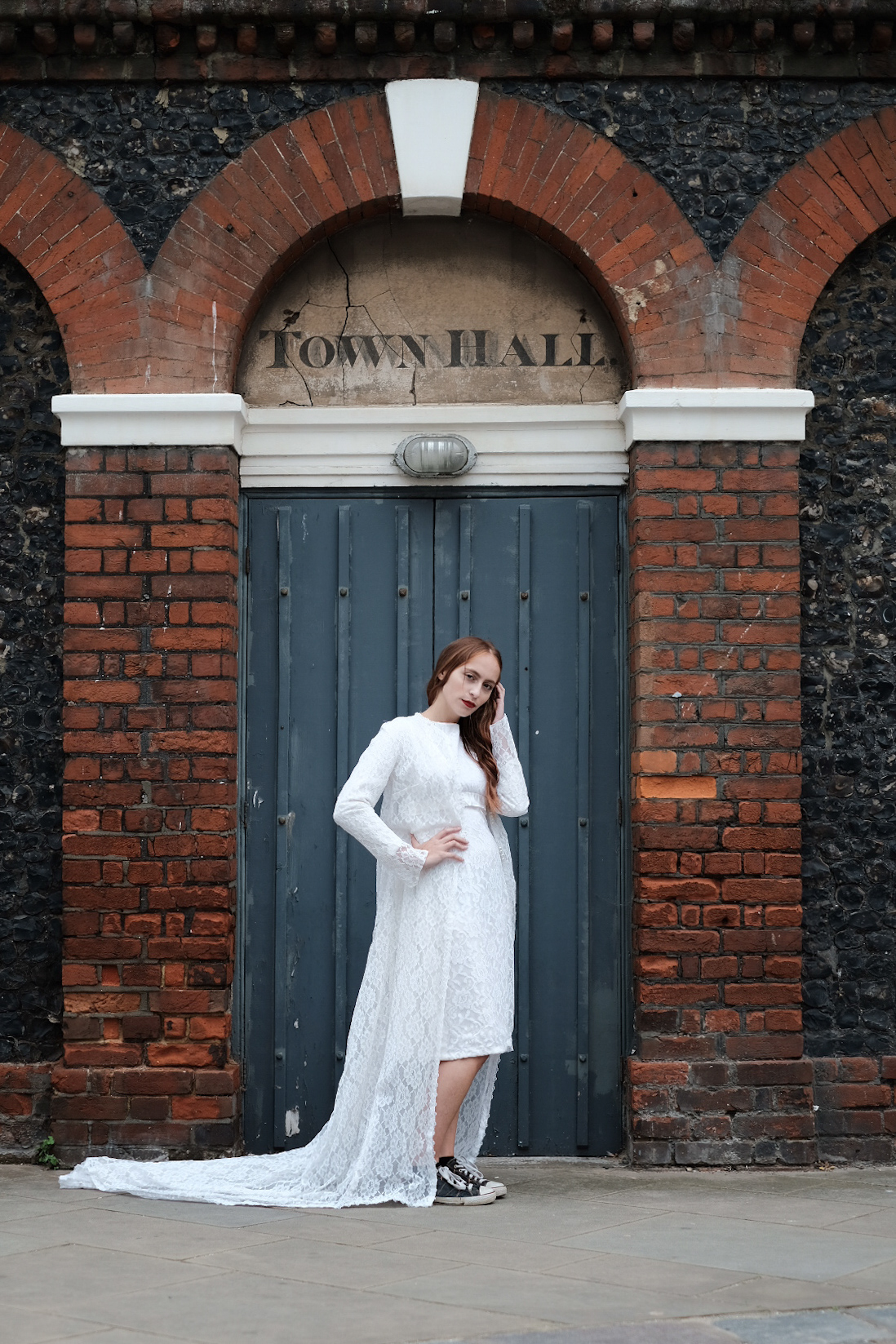 baby it's cold outside - bridal coat :  SHOP ON ASOS   Stunning handcovered buttoned bridal coat - for that illusion of warmth for an autumnal wedding or simply to up the drama as you walk down the aisle.  Size 8- 10. £120
