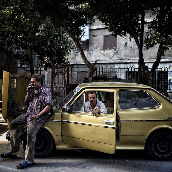 Auto Mechanics; Cairo, Egypt