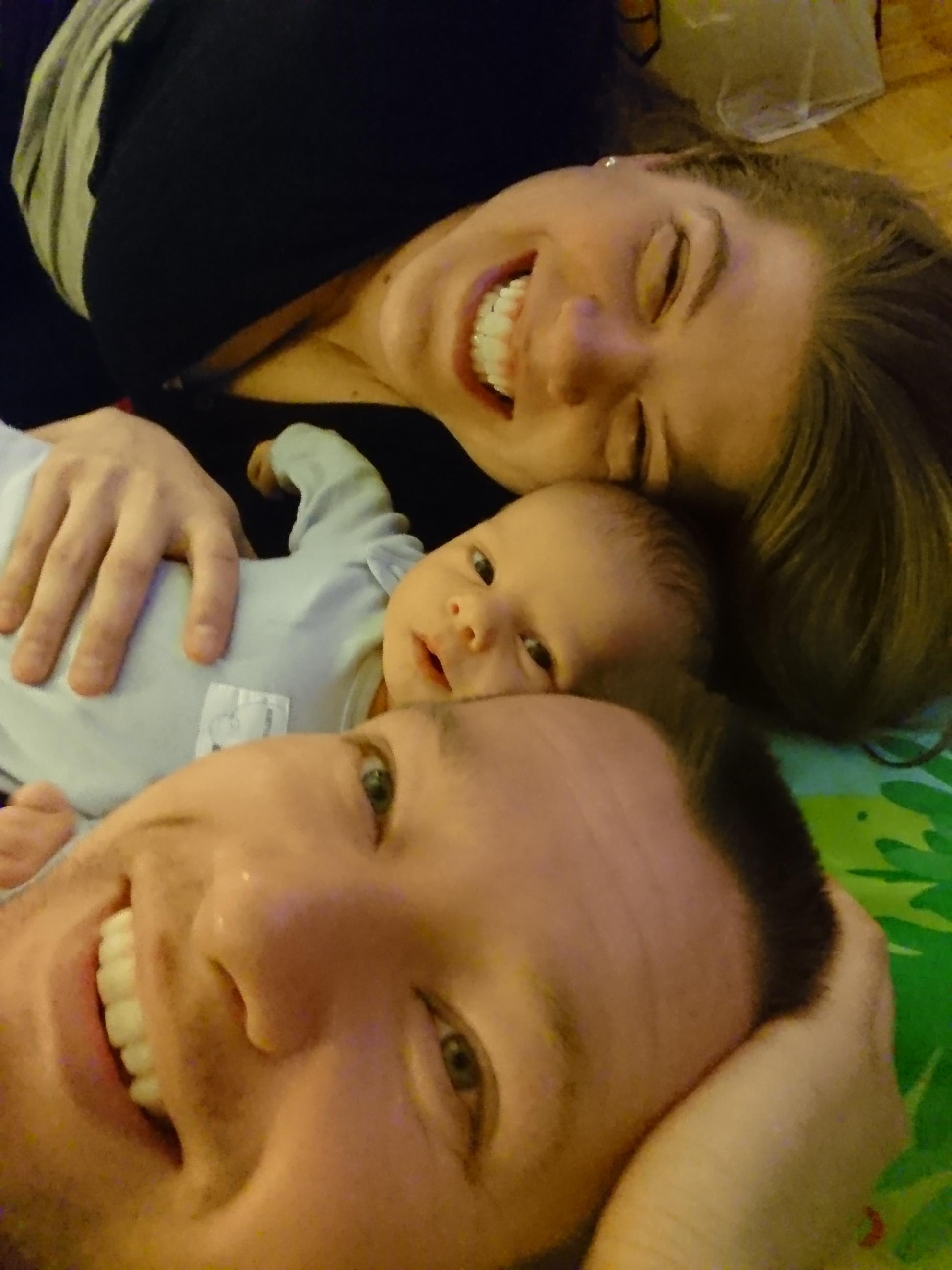 Baby Thomas and family