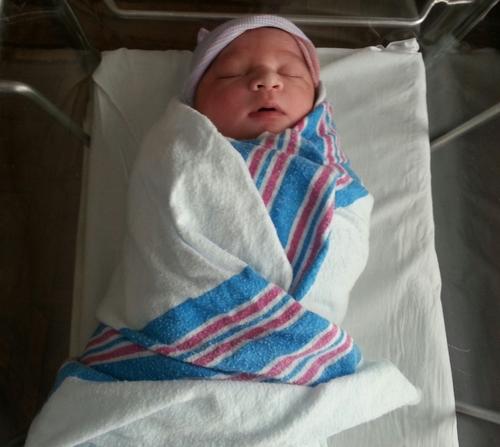 Baby Haleema born at Maimonides in Brooklyn