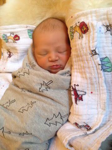 Baby Yuli born at Lenox Hill