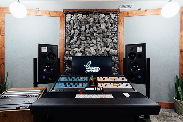 Welcome to Gnome Studios B! We are proud to announce our newest studio is fully operational and sounds excellent. Centered around the beautiful ATC scm50asl's and loaded with great gear and studio staples, this room is a dream to work and create in. Message or email us for more info or to book! #gnomestudios