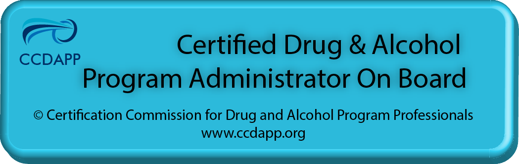 For use by  CDAPA s - Certified Drug & Alcohol Program Administrators. For example: CDAPA-A - Aviation, CDAPA-MC - Motor Carriers, CDAPA-T - Transit, etc.