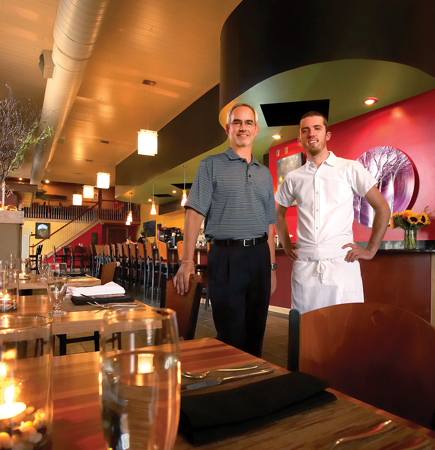 Owners, J.B. Innes and Executive Chef Dan Kern