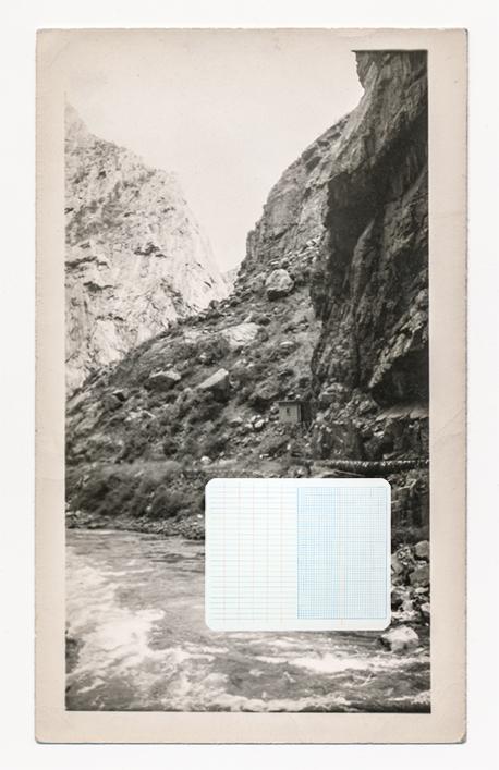 Mining Transit ,  2016,Hahnamuela archival inkjet paper, pastel, pencil, 24 X 36 Inches