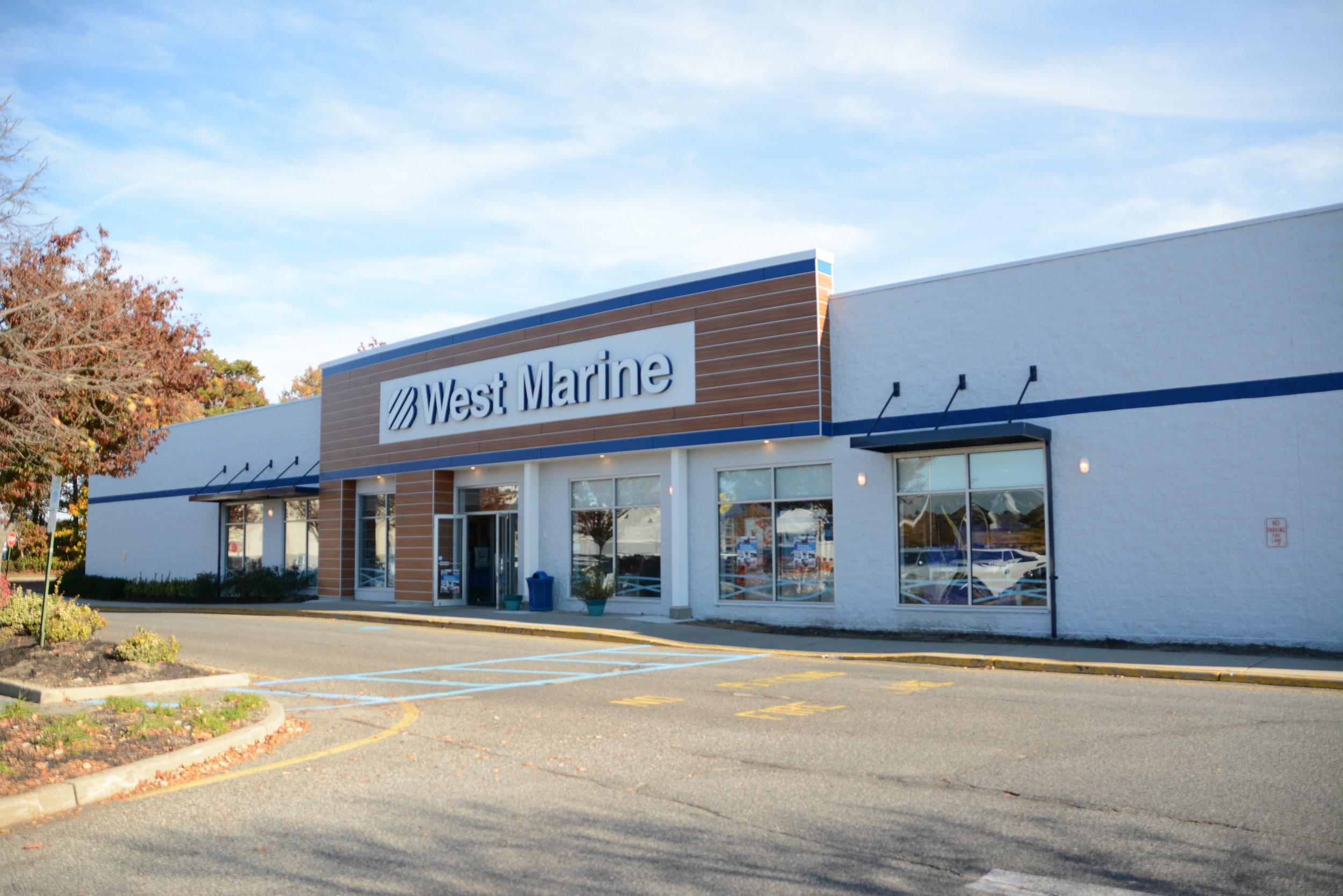 WEST MARINE FACADE | BRICK, NJ