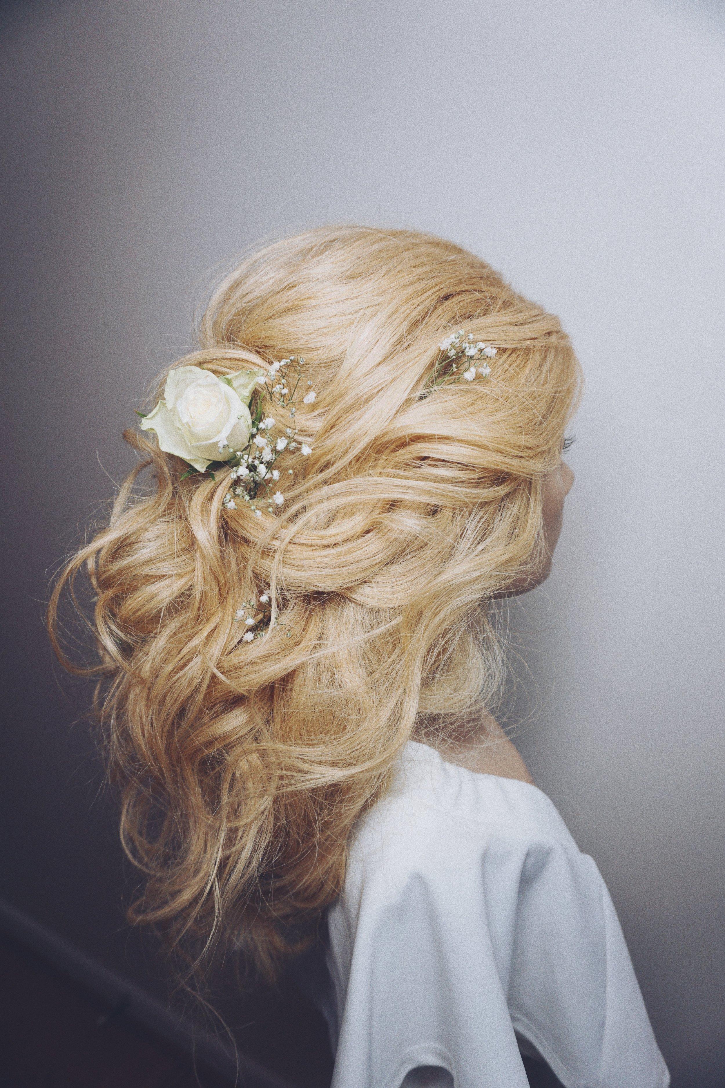 hair accessories for wedding hairstyle ideas half up half down