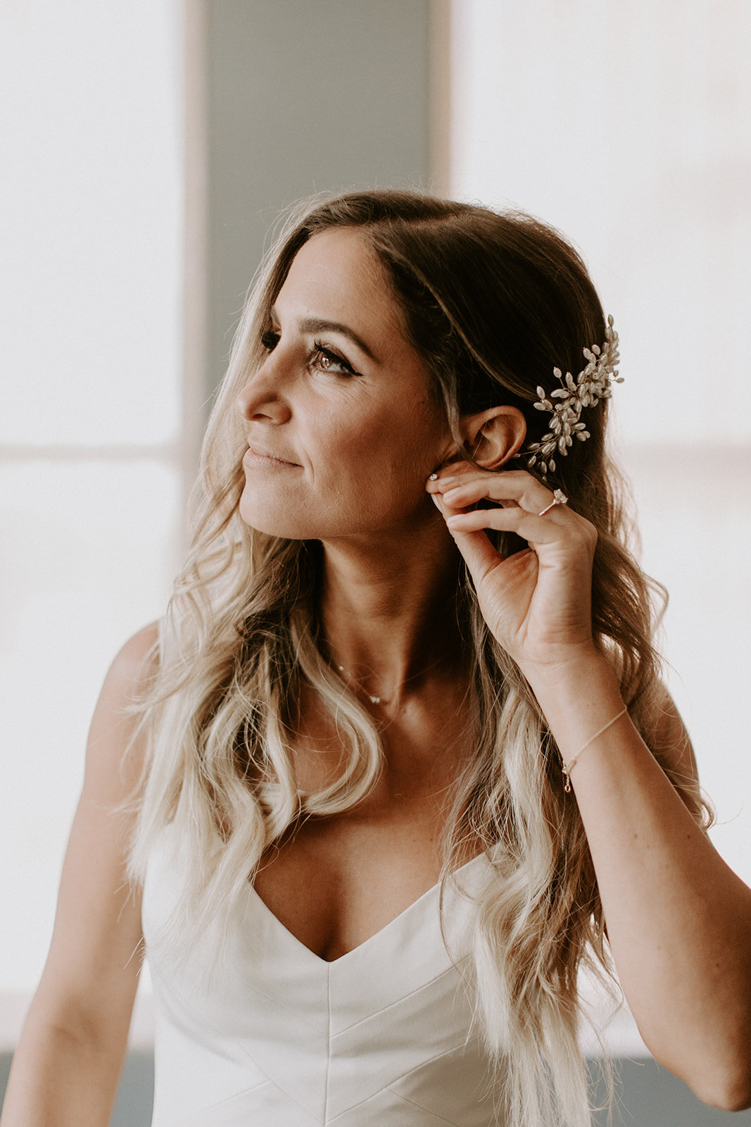 Marissa Grace Artistry Jenn Boho Chic Bridal Beauty Loose