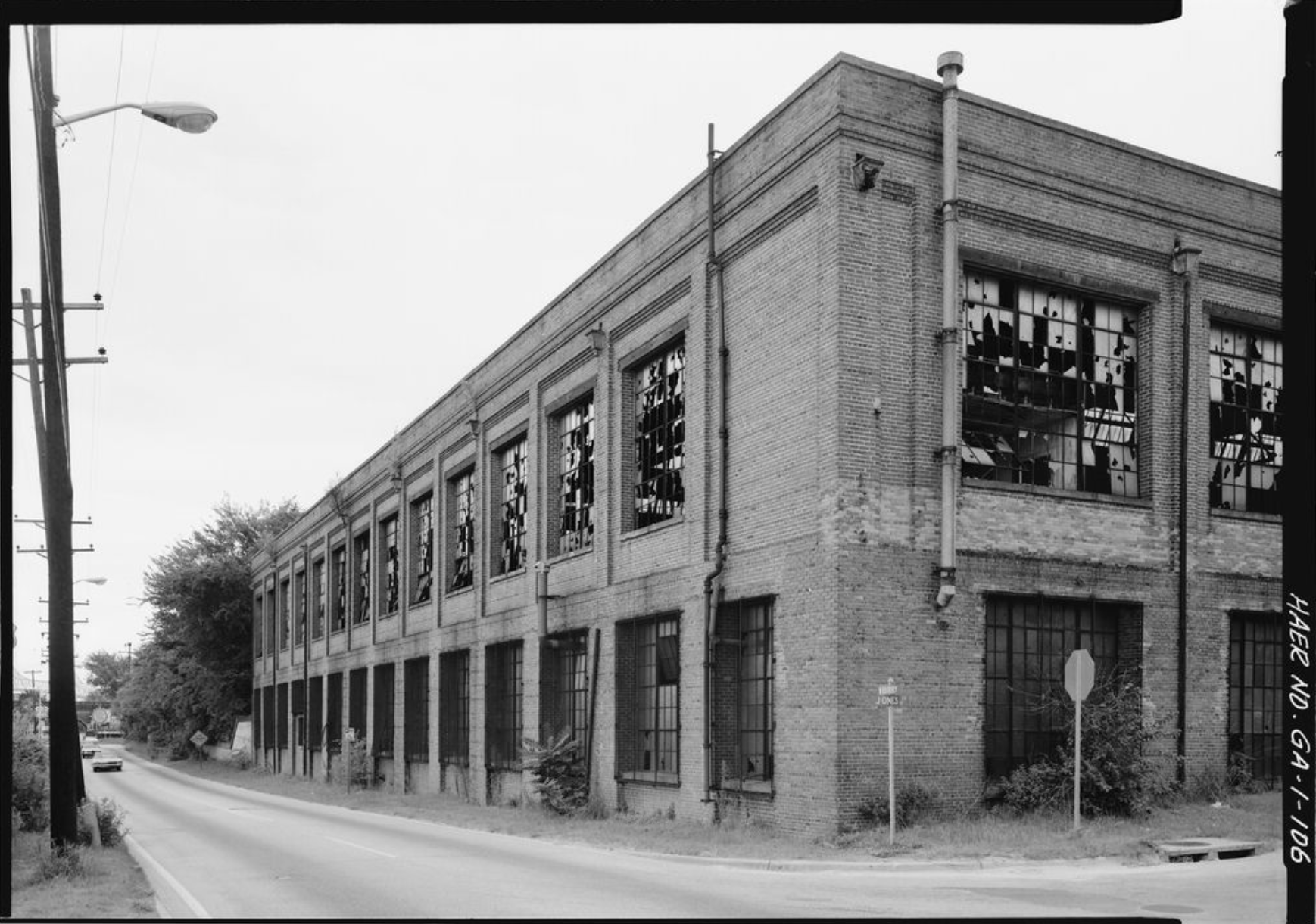 Exterior photograph of the Central of Georgia Railway building.