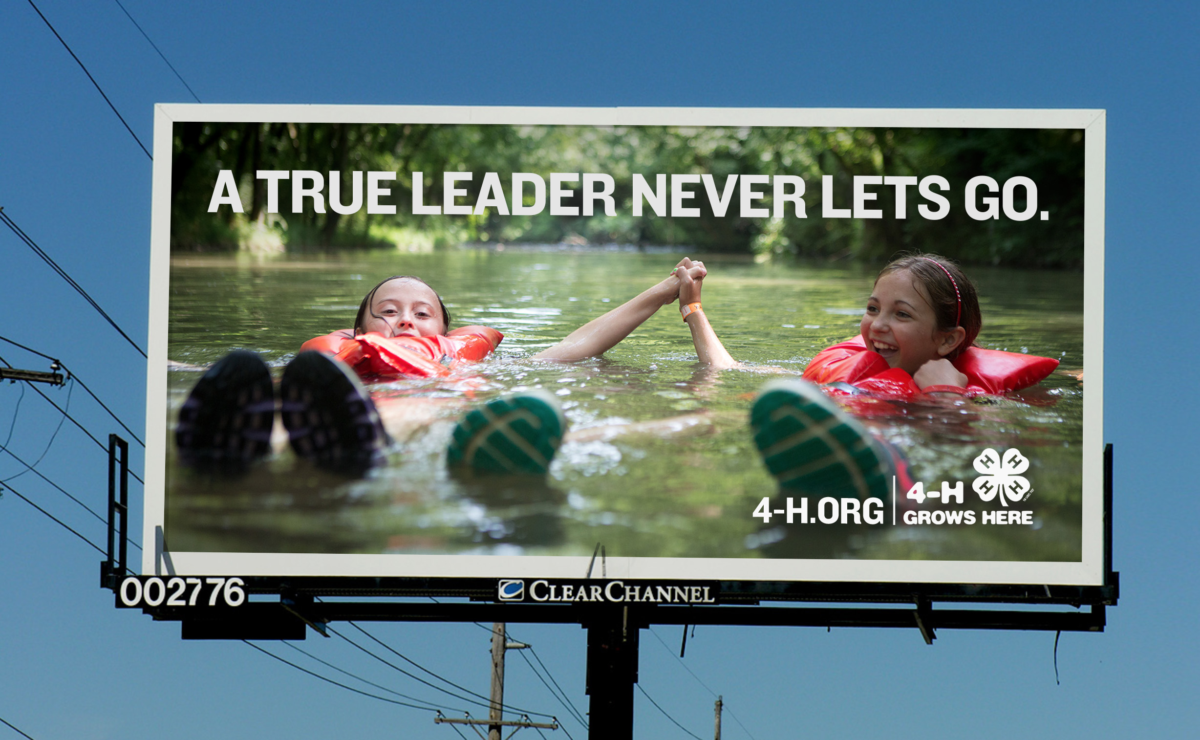 Smaller outdoor billboard for 4H national.