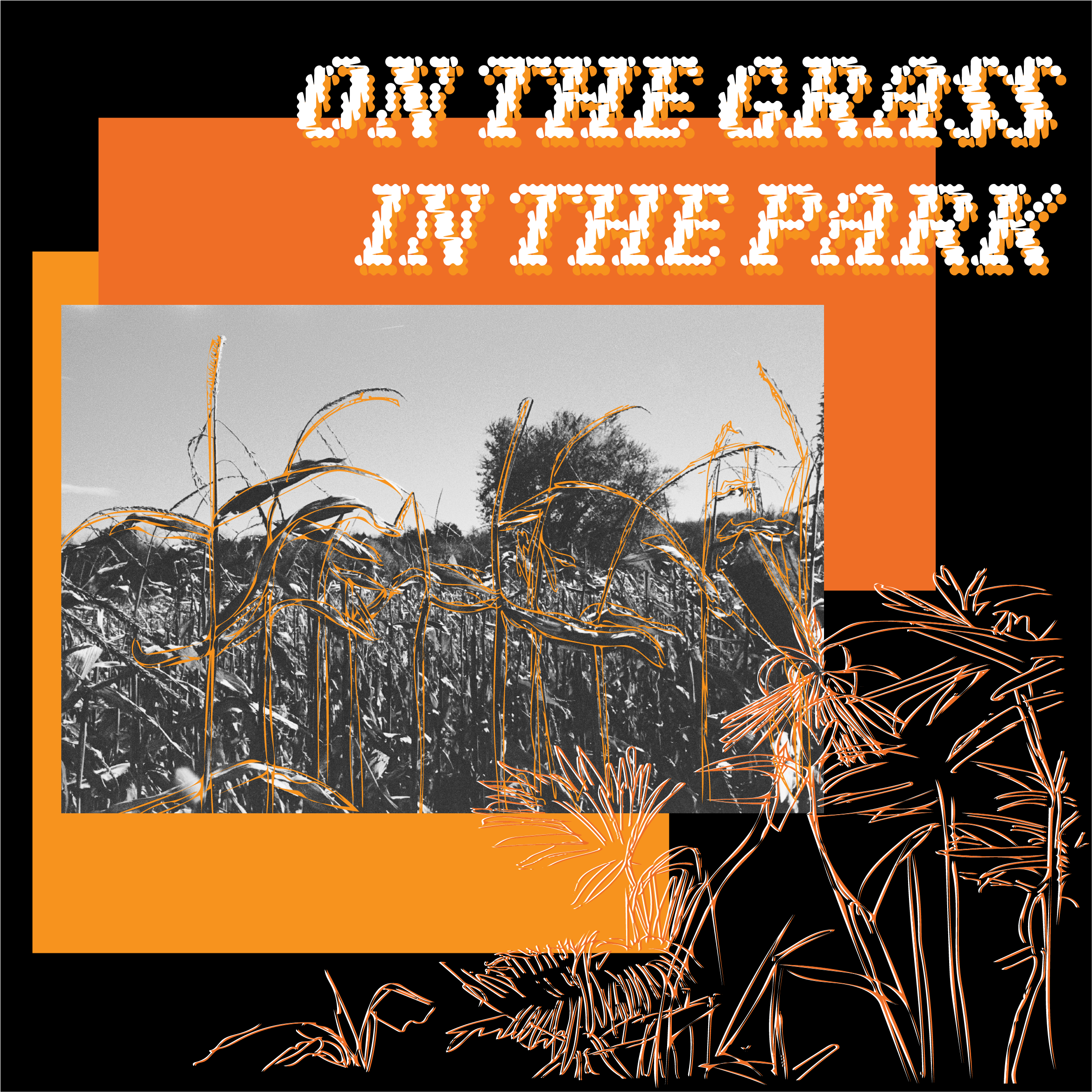 On The Grass In The Park by Grace Karls