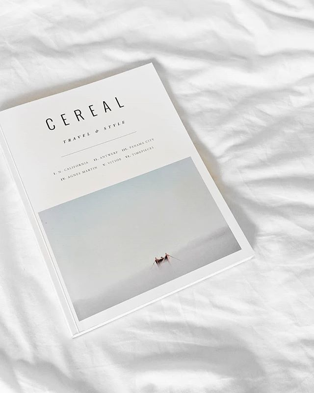 Morning brekkie accompanied by an old @cerealmag