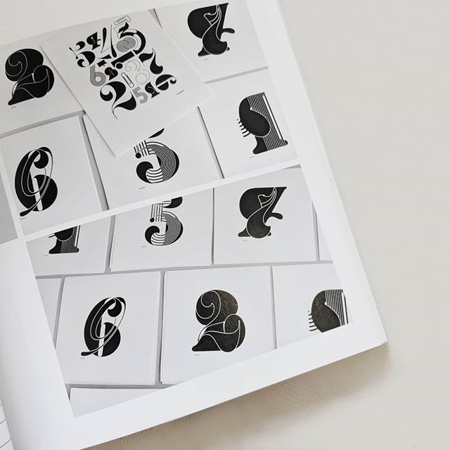 The next design book on my want list: Graphic Digits ... 'Numbers are used to mark the passage of time, denote value and record location. Bold, simple and always iconic, they provide the perfect forms for experimentation. A designers dream canvas.'