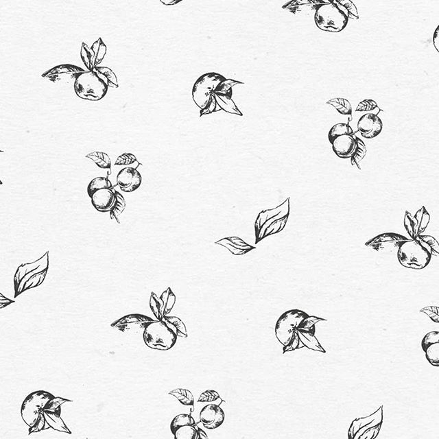 Had a lot of fun making this botanical brand pattern, especially as it's the first thing in a long time I created with a pencil instead of a cursor