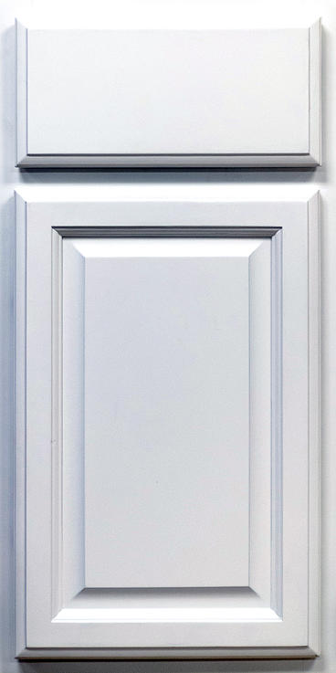 Classic White Door