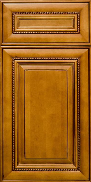 Pecan Rope Door