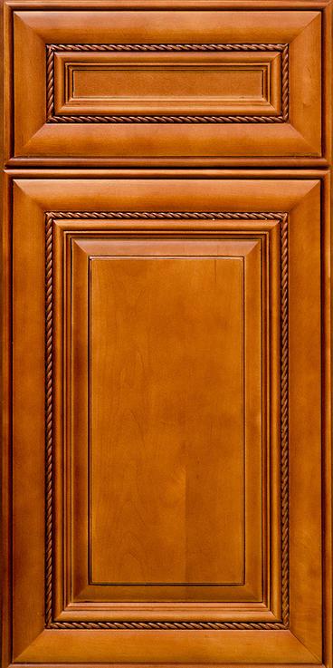 Mocha Rope Door