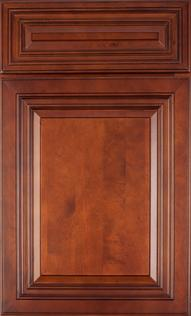 Crimson Glaze Door