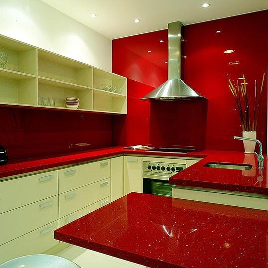 Kitchen Using Raw Slab Quartz