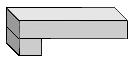 "1-1/2"" Laminated Flat Edge Standard In All Prefabricated Quartz Countertops & Peninsulars"