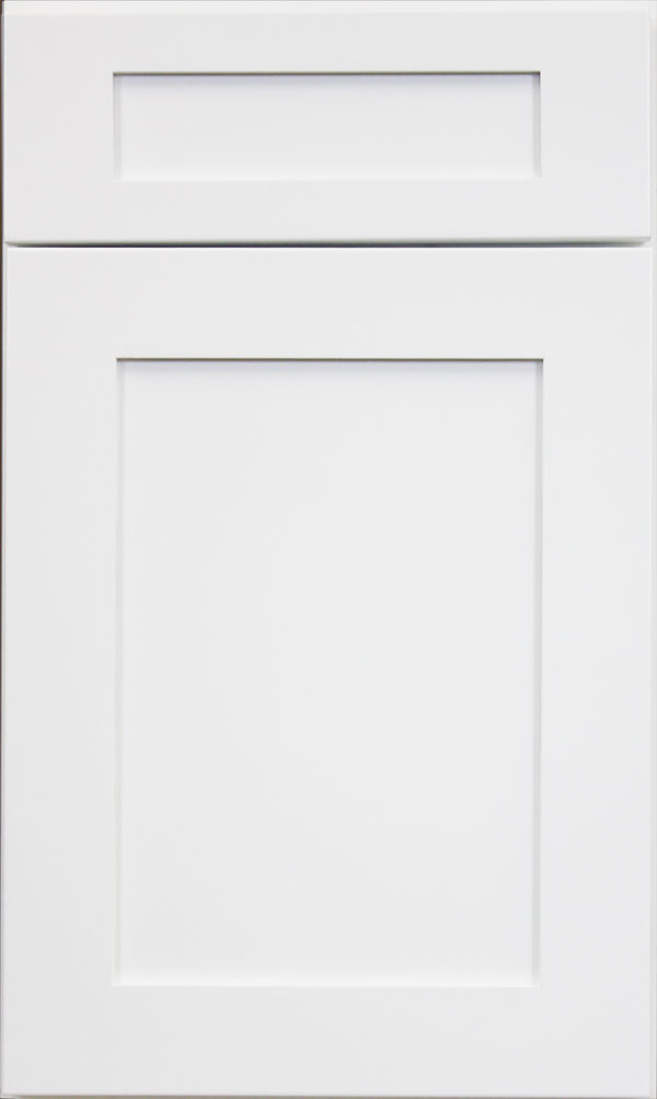 White Shaker Seamless Door