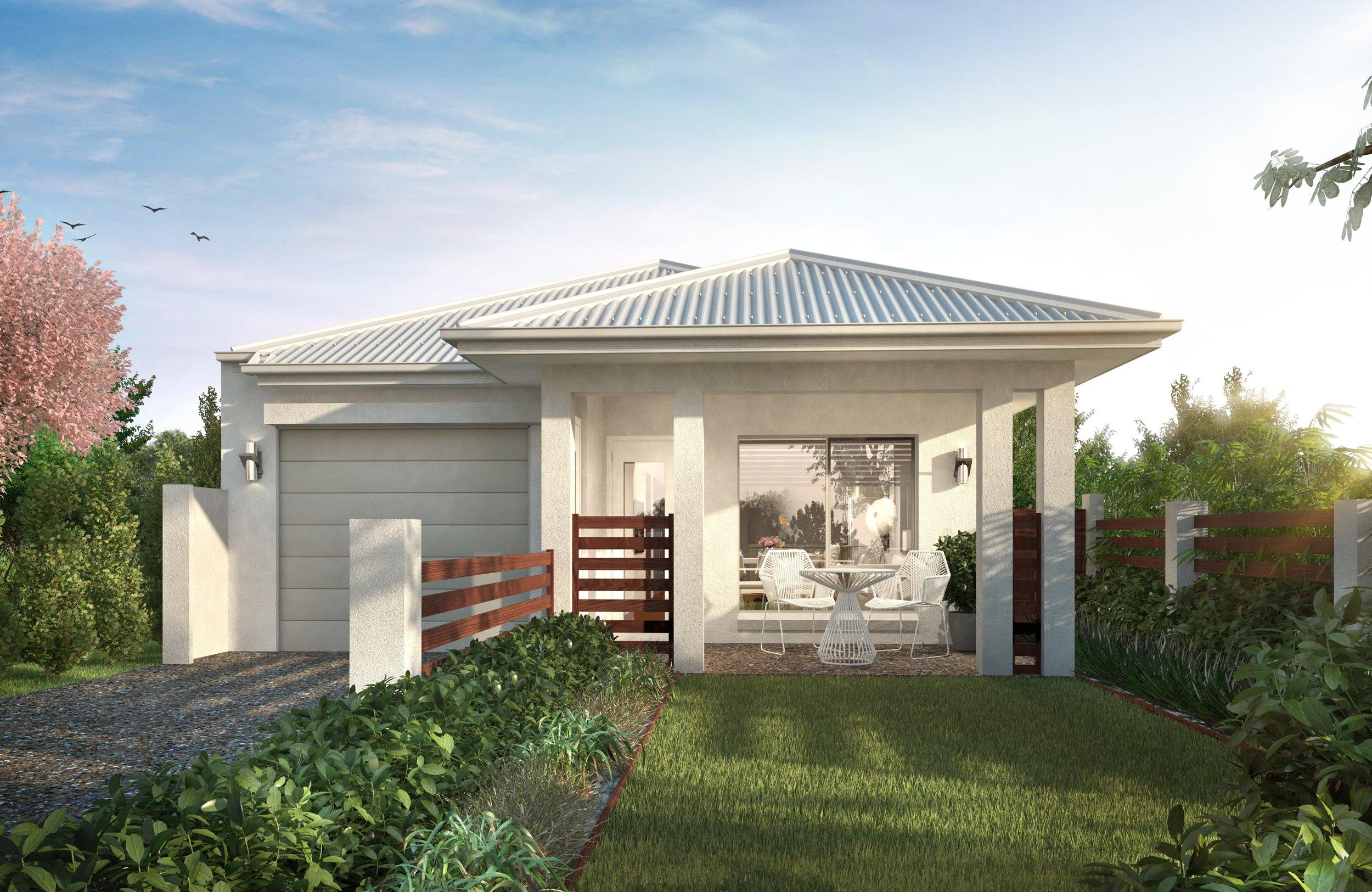 Lot 542 Vale     H & L $359,500 - 3 BED 2 BATH 1 CAR- 2700mm high ceilings- 'Smart Villa' Inclusions- Steel frame