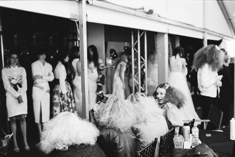 adelaide fashion festival 2016-model backstage