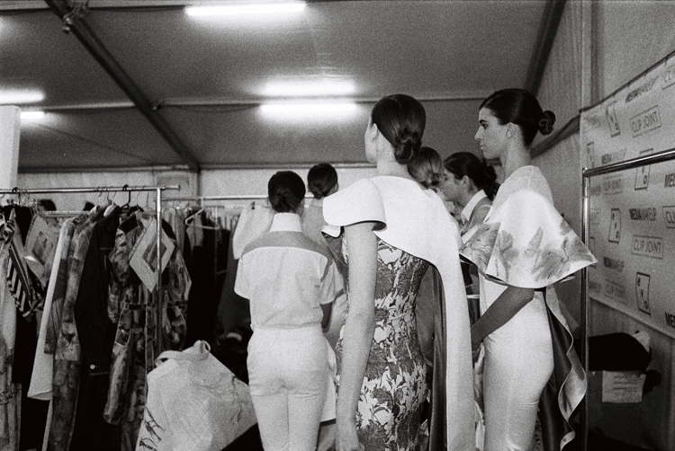 adelaide fashion festival 2016-models backstage