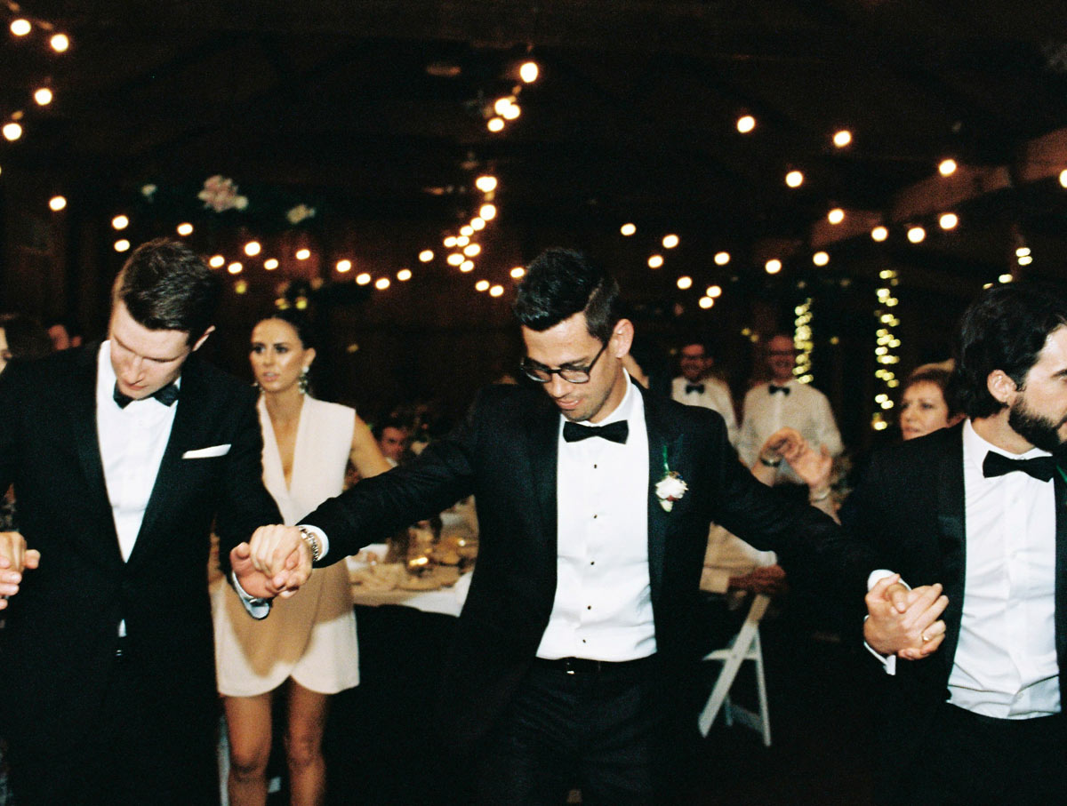 Greek Wedding Adelaide Groom Dancing