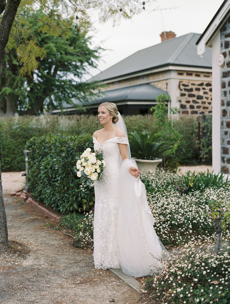 Barossa Valley Wedding Betrothed wedding gown