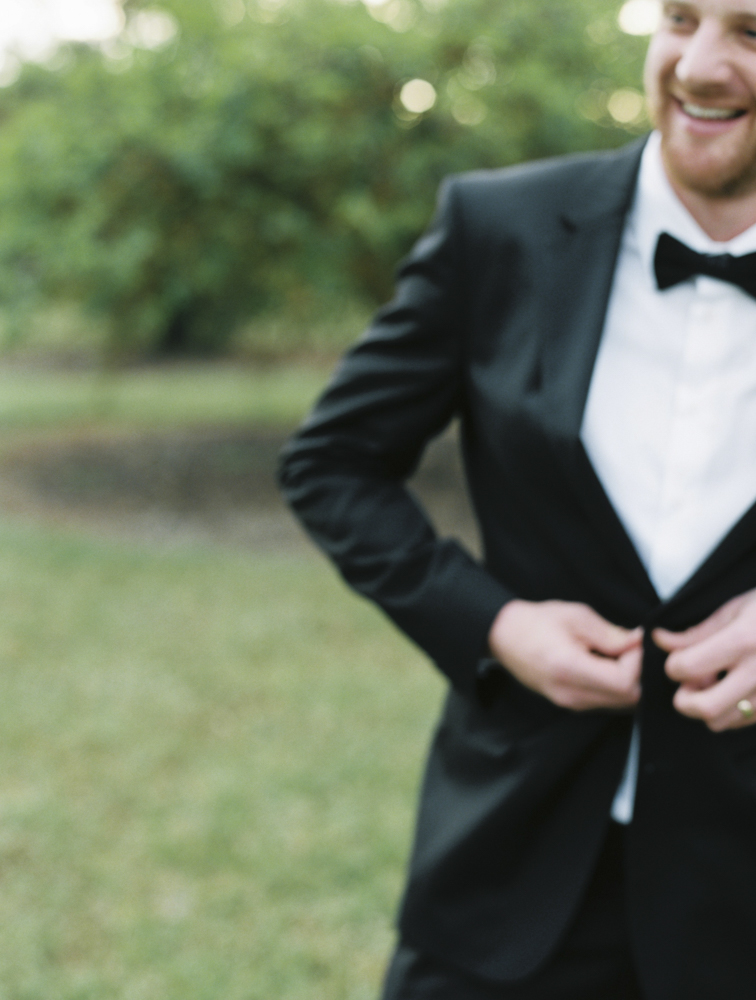 Adelaide Wedding Photographer - Hugo Boss jacket on Groom