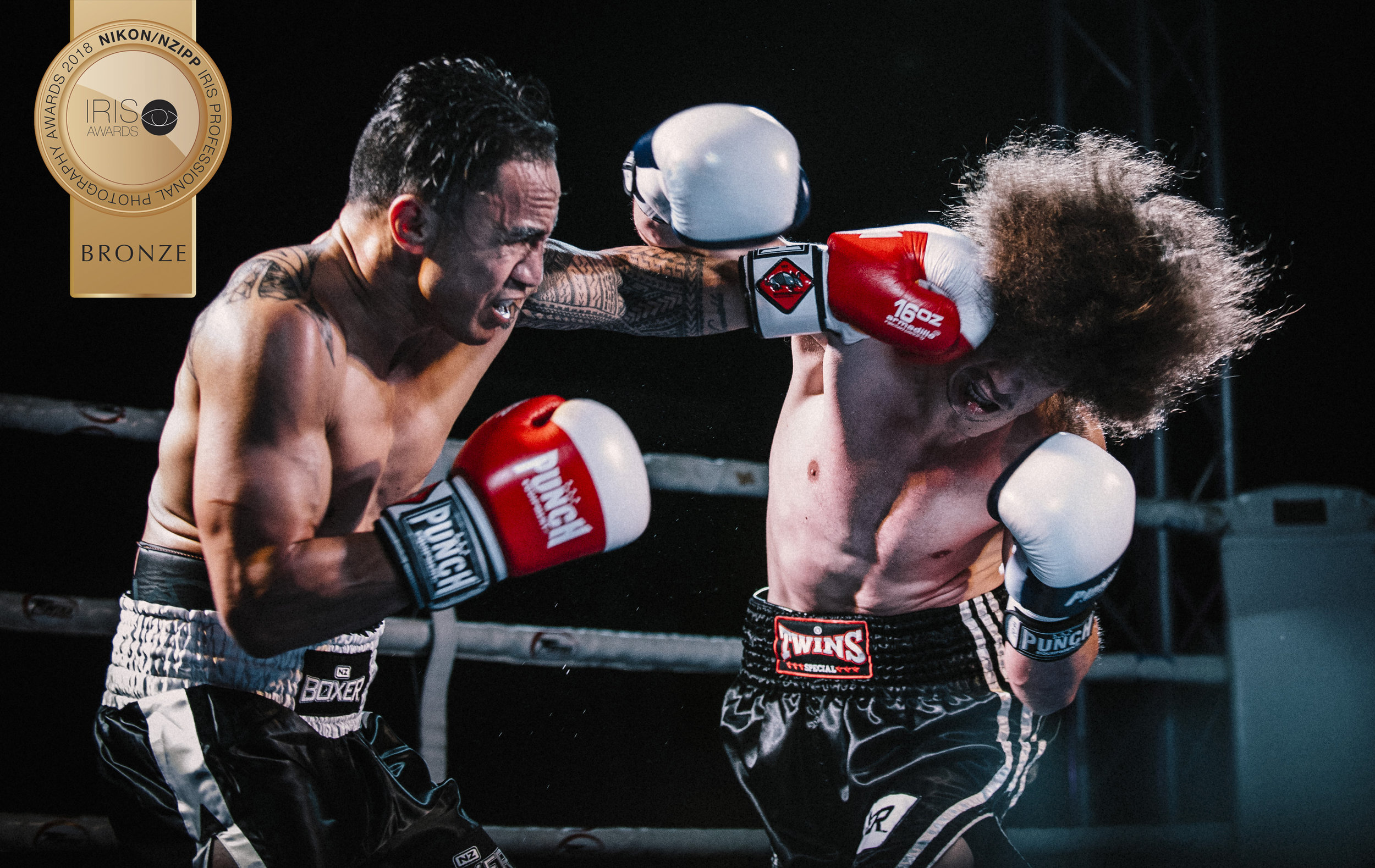 Auckland boxing photographer