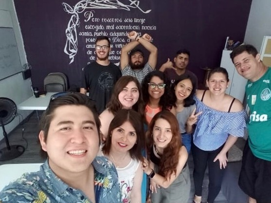 Esta semana estuvo con nosotros Pily hablando de relaciones interpersonales en la EDE!! Gran gran bendición tenerte con nosotros @pily3cad !! Gracias por compartirnos tus experiencias y tu sabiduría! 🌻 . . . This week was Pily with us talking about interpersonal relationships in DTS class!! What a big blessing to have you with us @ pily3cad !! Thank you for sharing your experiences and your wisdom! 🌻
