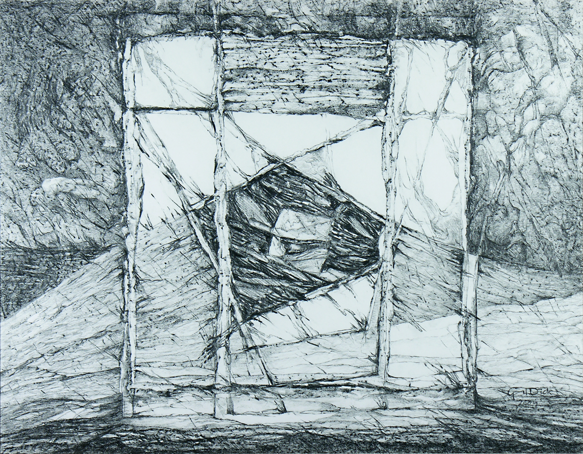 The Journey, 65cm x 82cm, Graphite on paper, $1300
