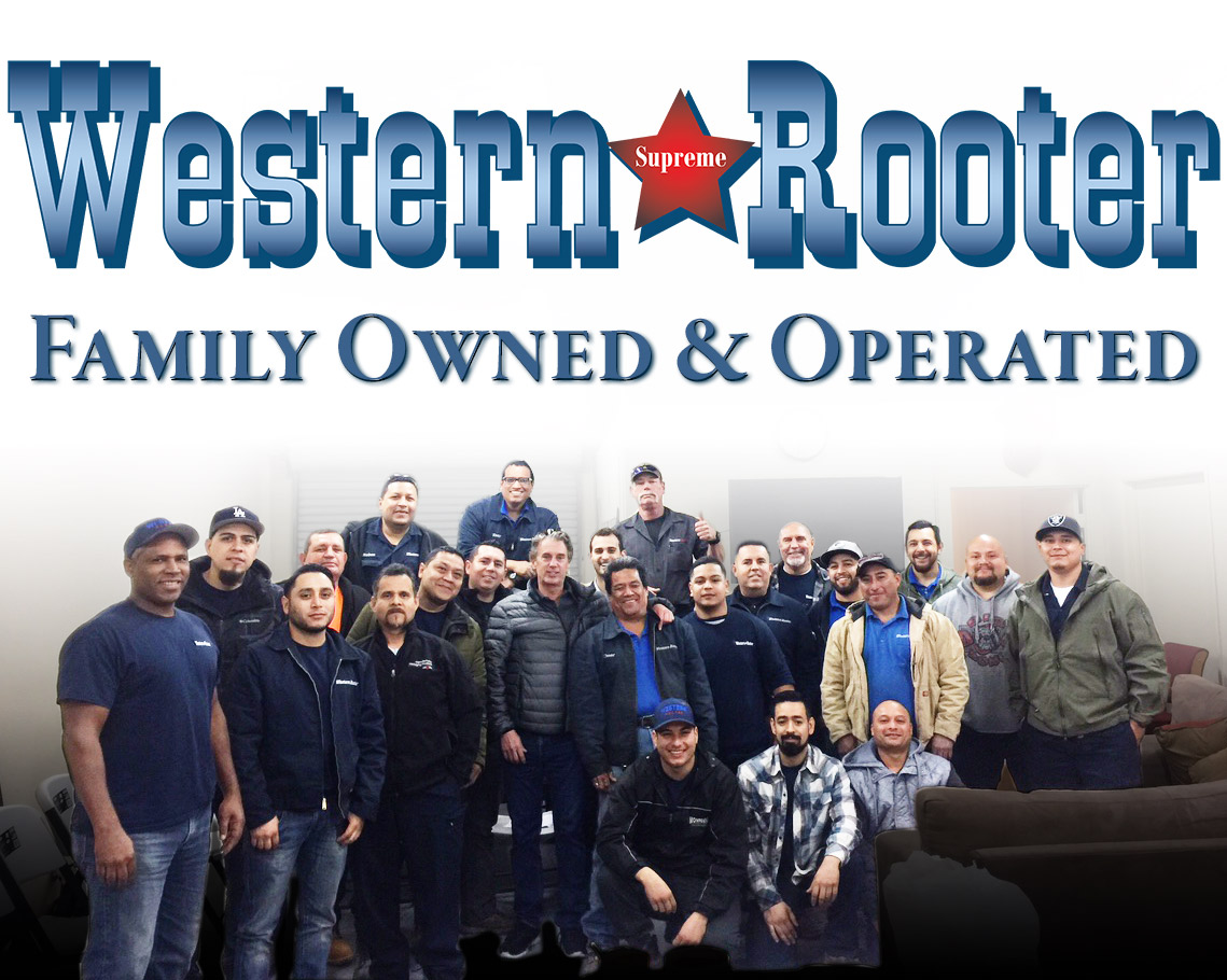 Western Rooter began as a mom and pop plumbing and rooting company, but after years of dedicated and exceptional service, our family has grown.