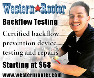 Backflow Testing    (starting at $68)   As a Certified Backflow Tester, we're able to offer Back Flow prevention device testing and repairs at competitive prices. Testing is a simple procedure with digital equipment.   Read More about Backflow Tests