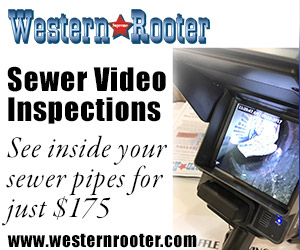 Sewer Camera Inspection    ($175)   Always having a stoppage? Want to solve your problem? Find out with an HD colored Sewer Video Camera Inspection. You will get a video and location of your sewer line to pin point that problem!   Read More about Sewer Video Inspections