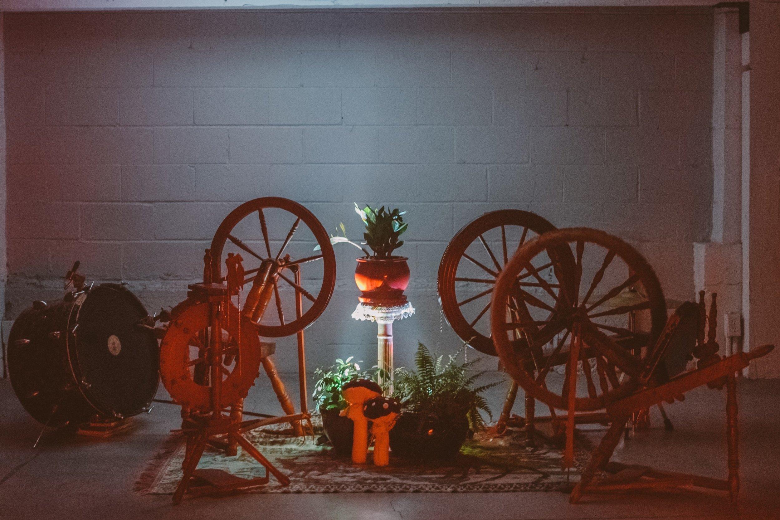 Sara Gold, Spinning Wheel Ensemble.
