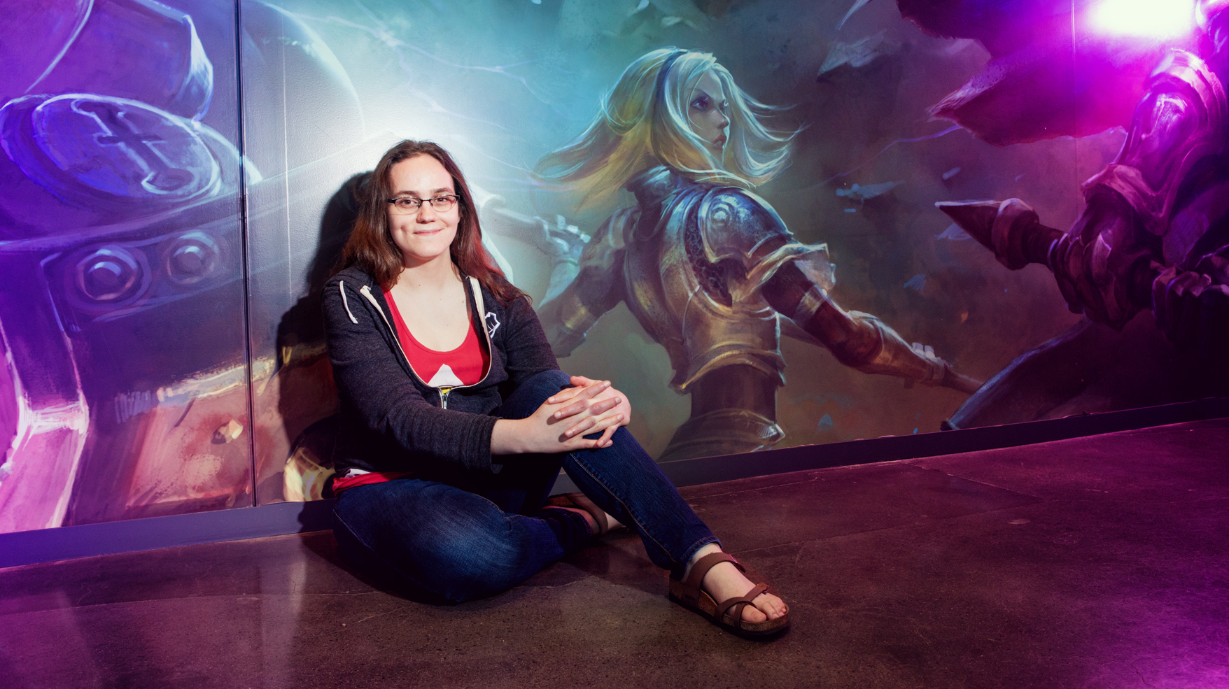 As an online behavior systems designer for Riot Games, Naomi McArthur works to create a system of good sportsmanship in an exploding industry.
