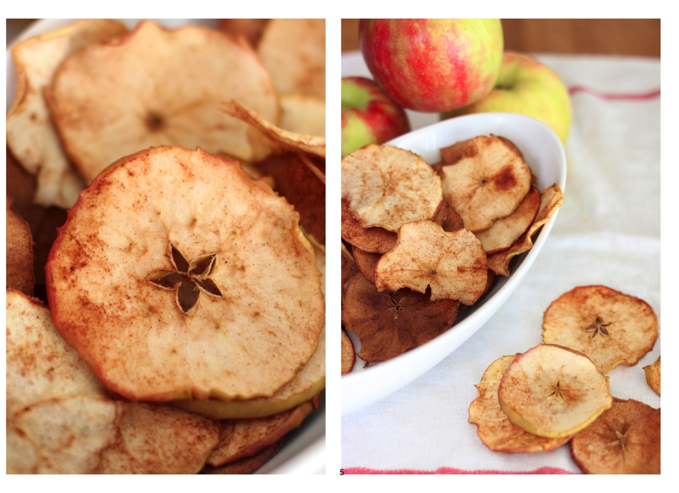 baking with kids: apple chips