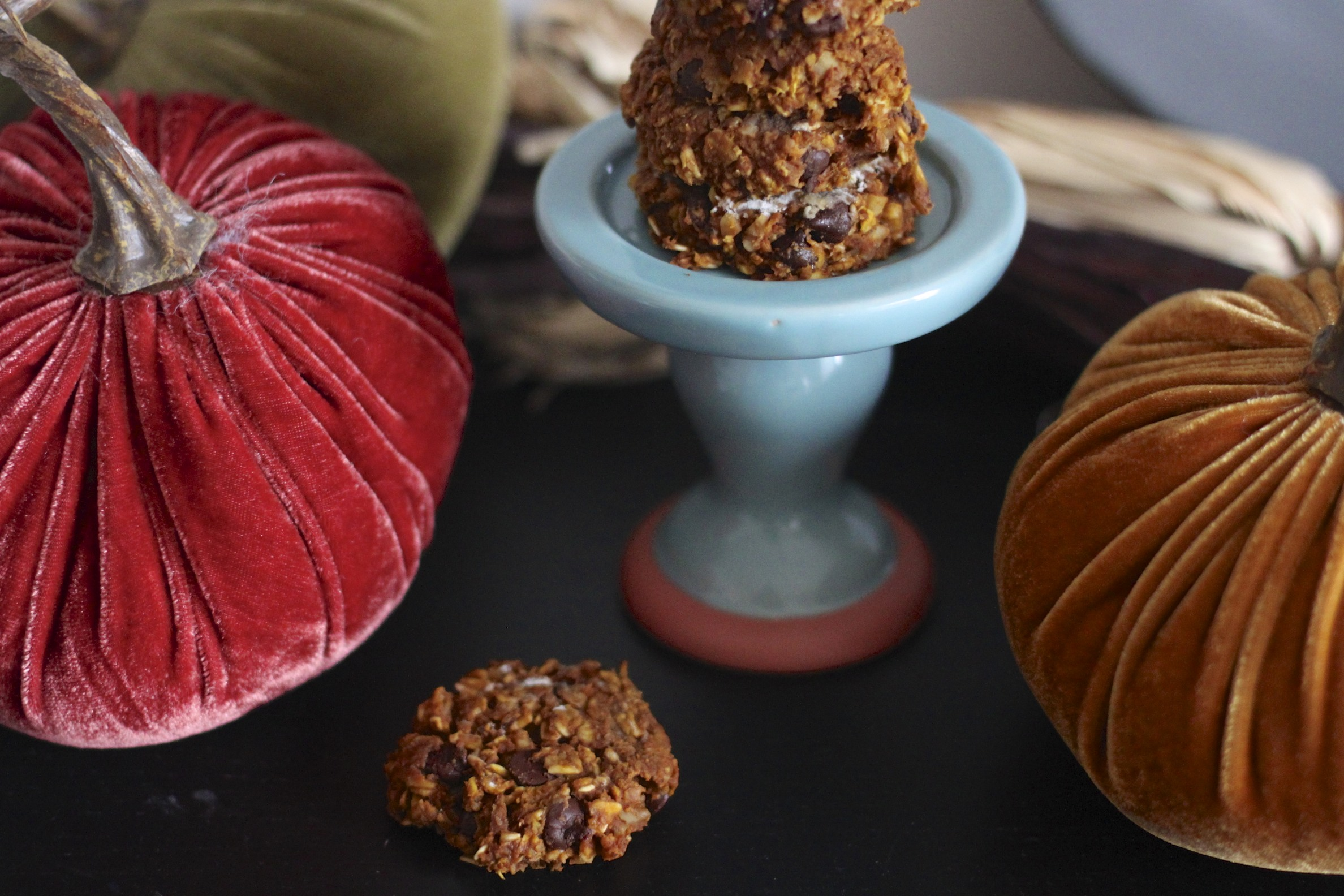 pumpkin energy cookies