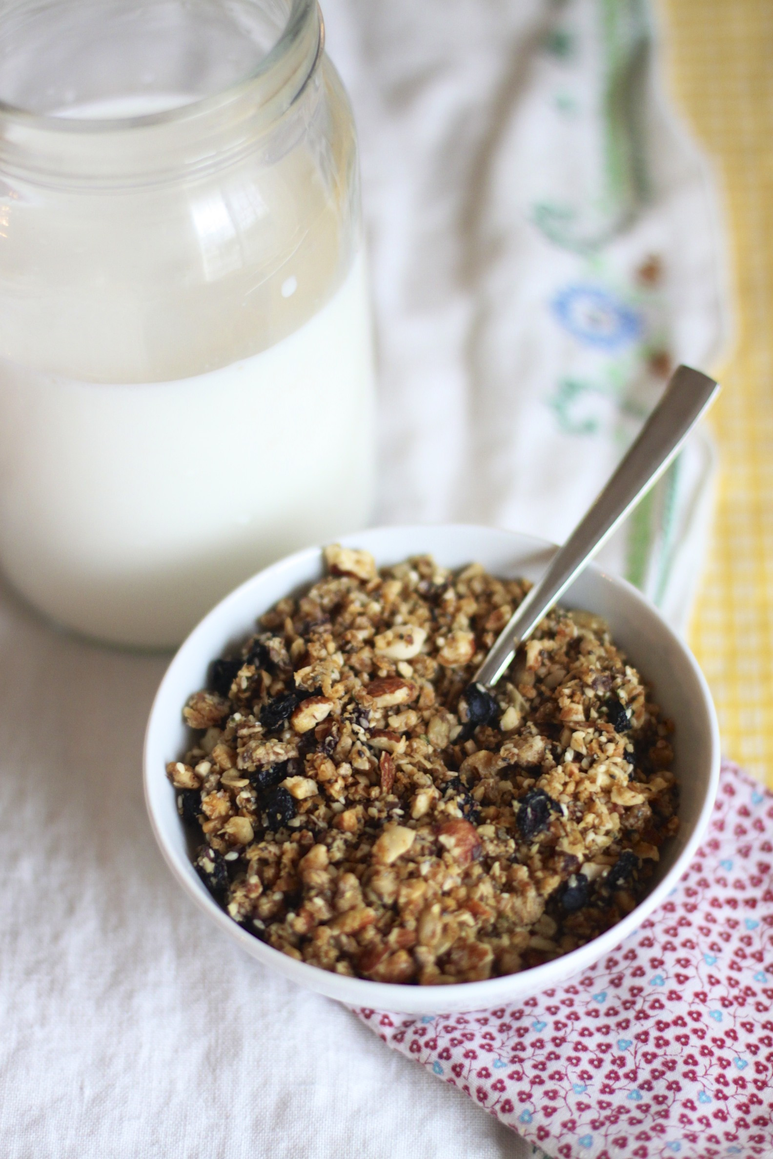 5-seed almond granola (grain-free)