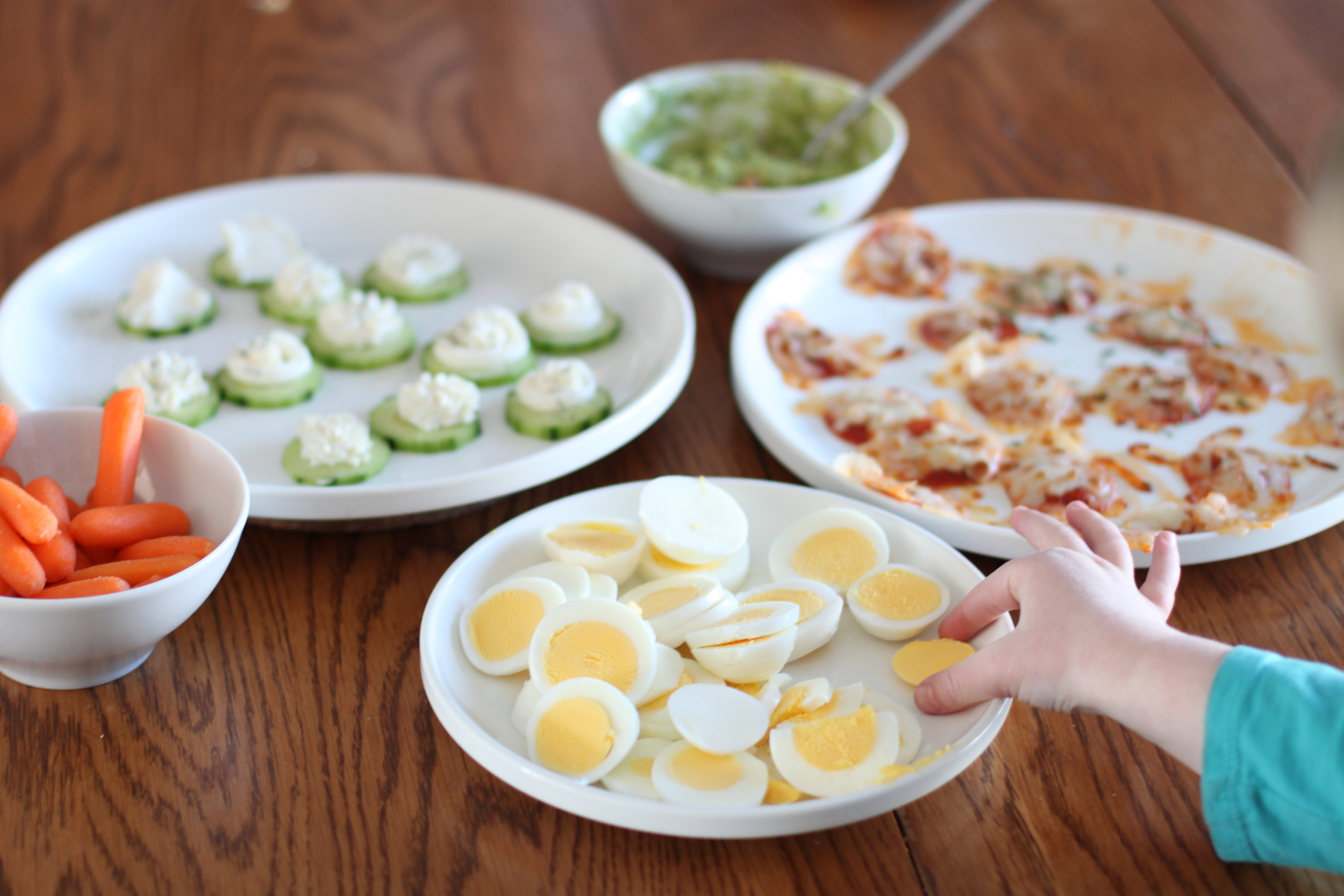 low carb/paleo kids: creating a (lunch) tapas party