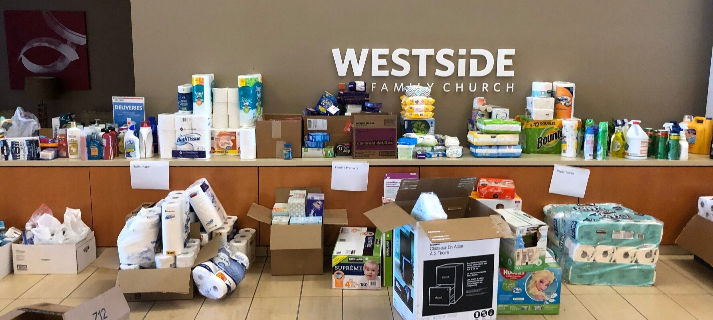 Resource Drive Report | COVID-19 Response — Westside Family Church