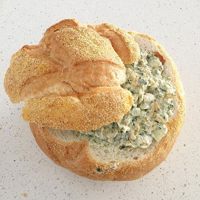 As always my spinach dip in a bread bowl was a hit! 1 package cream cheese I package frozen spinach (thaw & drain first) 1tbsp dill weed 1 cup grated cheese 1/4 cup diced onion 1 cup mayonnaise 2 minced garlic cloves Optional: 1/2 cup crumbled bacon Mix everything together, place in hollowed out bread bowl, cook for 2 hours at 350 degrees.  Now that we are back to Monday tomorrow, I am trying to get a better handle on dinner time at our place.  Summer is getting the best of us and I hate the feeling of always scrambling last minute to prepare a meal!! So time to make some changes.  I sat down to plan out our week.  You can go to my stories and I've shared my weekly dinner meal plan for our family.  I will be doing my best to sit down and share my weekly plan every Sunday with you!  #saskblogger #saskatchewan #canadianblogger #discoverunder1k #mealprep #sahm #familymeals