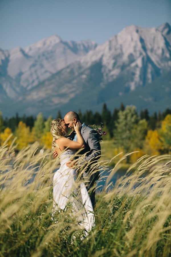 Canmore mountain wedding hairstylist