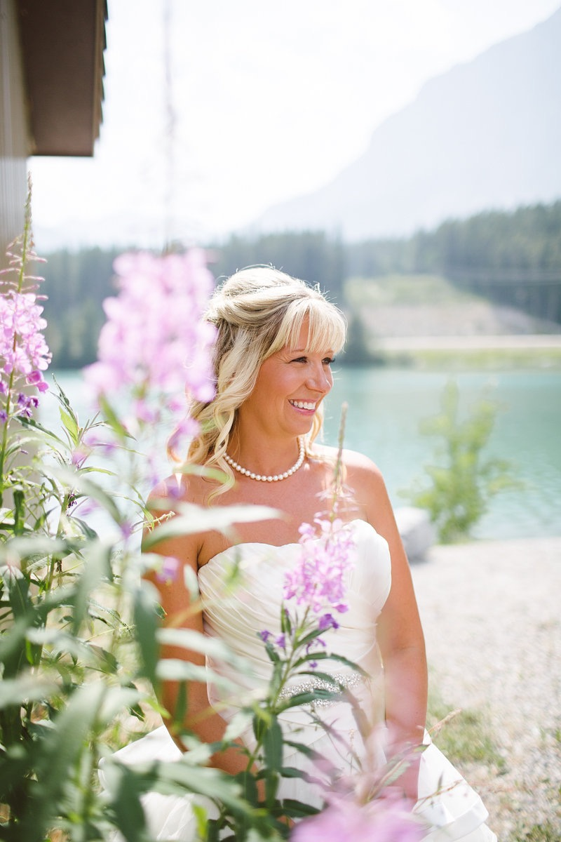 Lake Louise hair and makeup artist