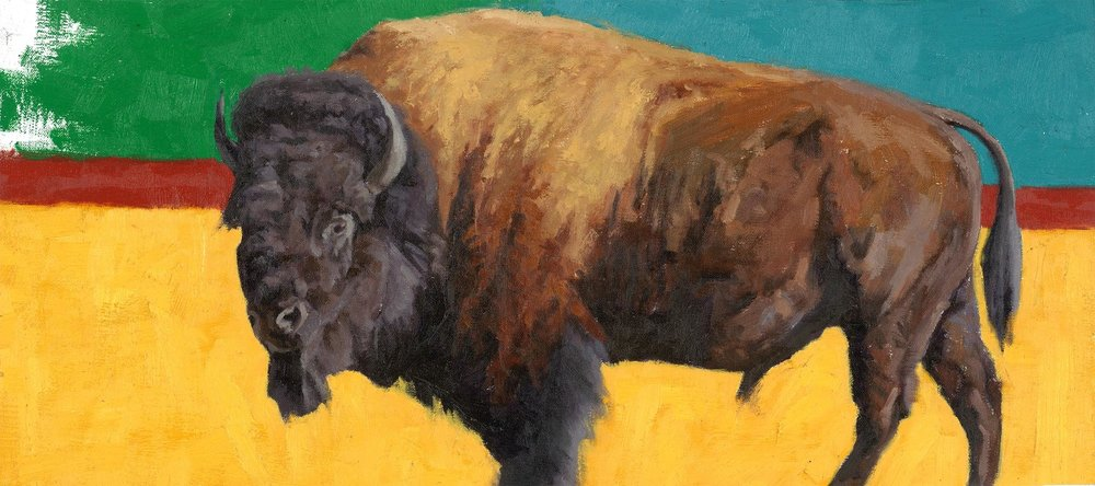 Contemporary Bison (Sold