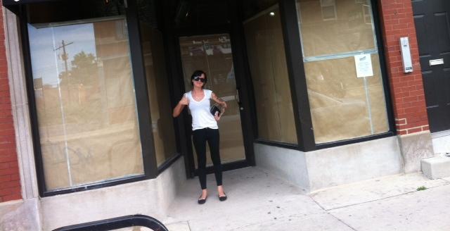 me in front of shop.JPG