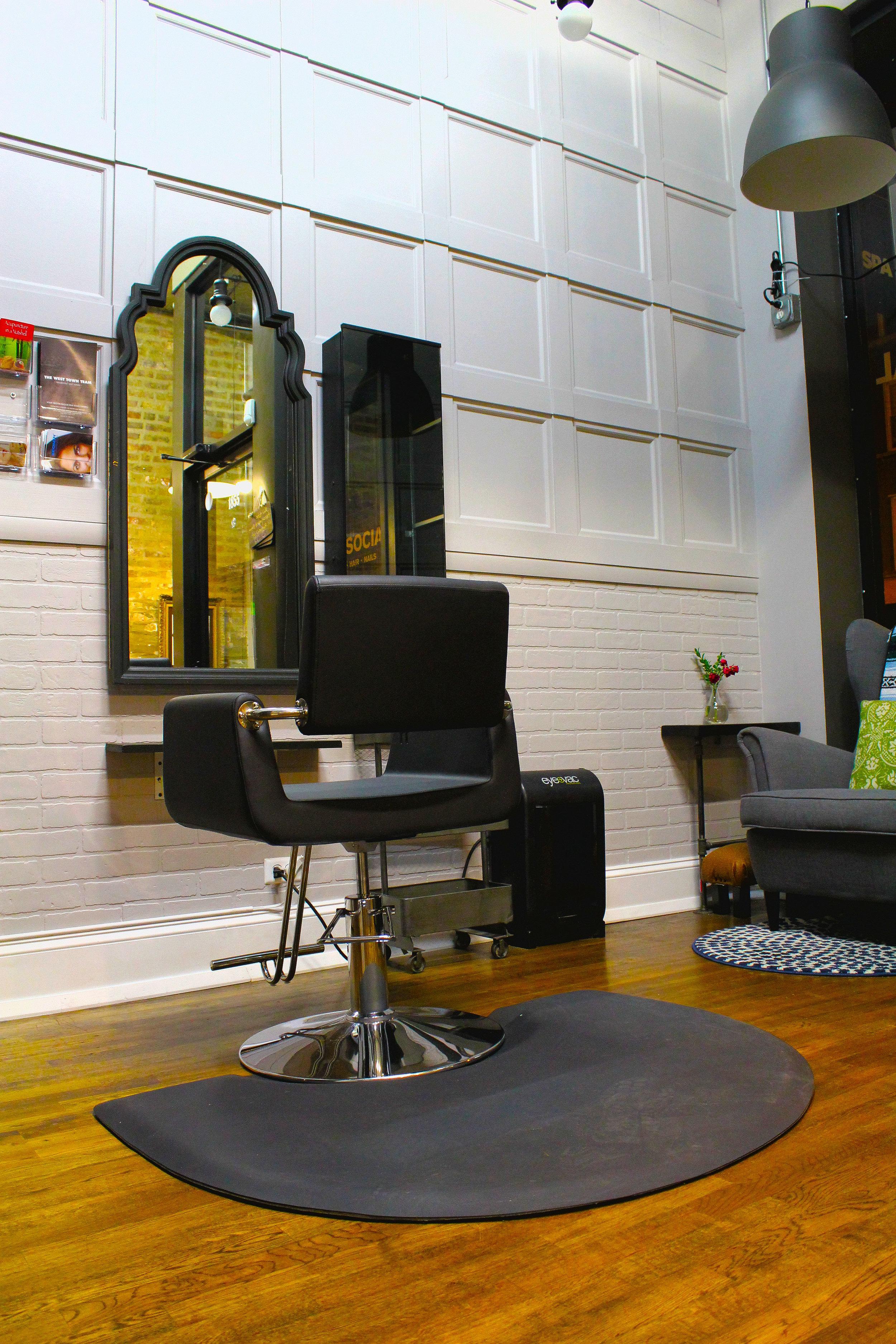 1st hair station.JPG